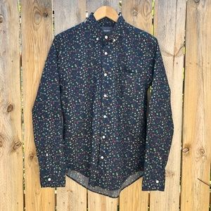🍁Bonobos | Floral Print Button down Shirt Size S